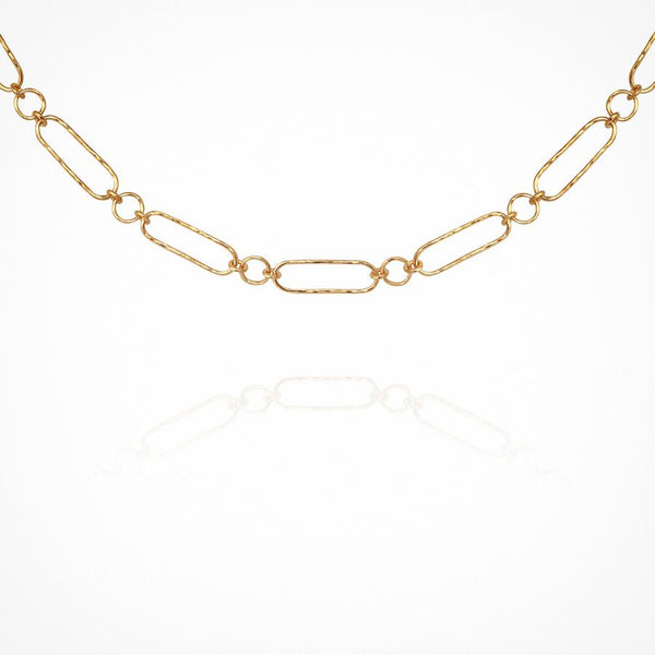 Dara Necklace Gold - One Palm Studio
