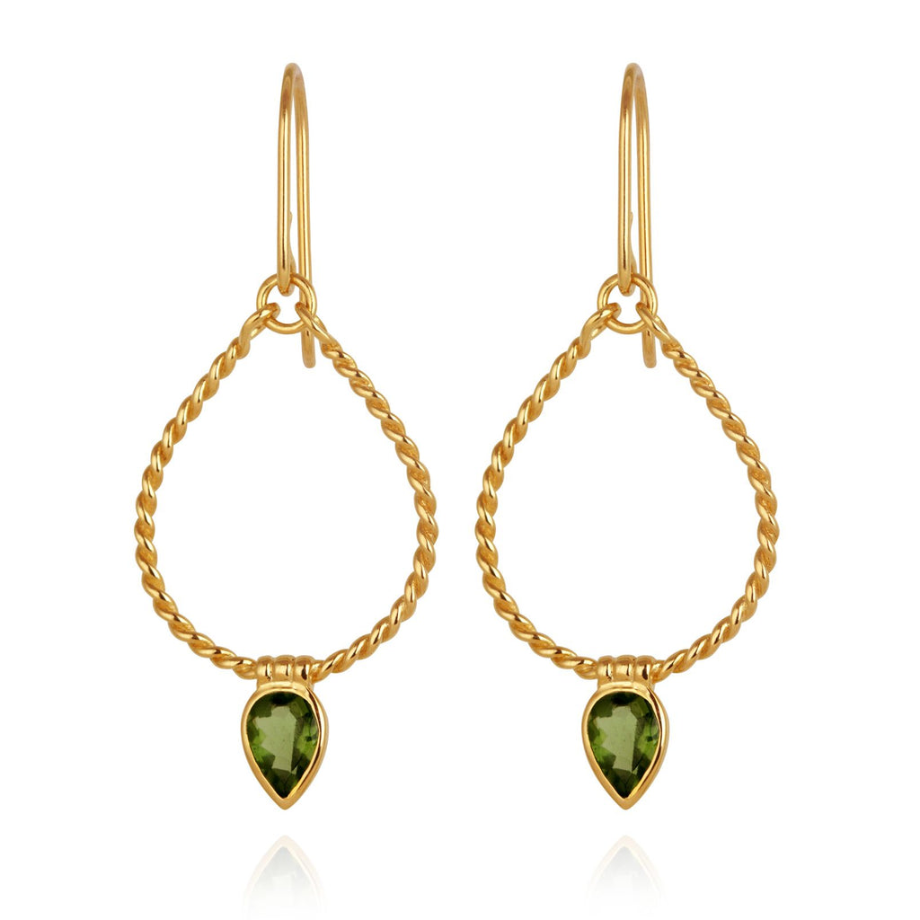 Agnes Earrings Gold - One Palm Studio