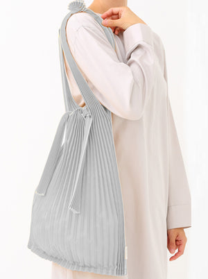 Kna Plus - Vertical Pleats Bag Large
