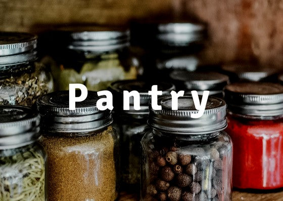 Keto pantry Low carb pantry