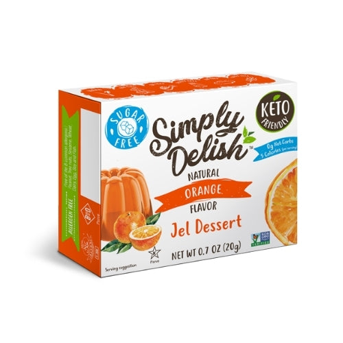 Simply Delish Orange Jelly Mix
