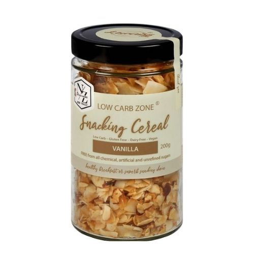 Low Carb Zone - Snacking Cereal - Vanilla 200g