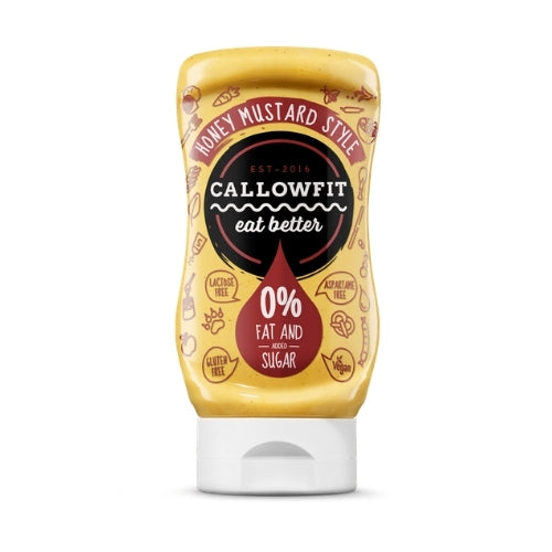Callowfit Low Carb Honey Mustard Sauce - 300mL