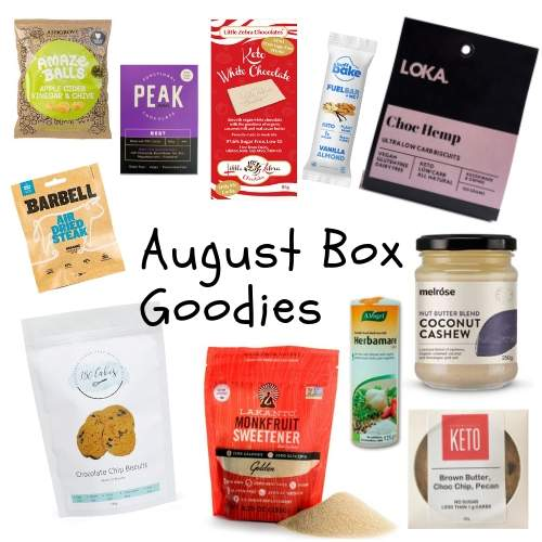 Box - August 2019 (stand alone order item)