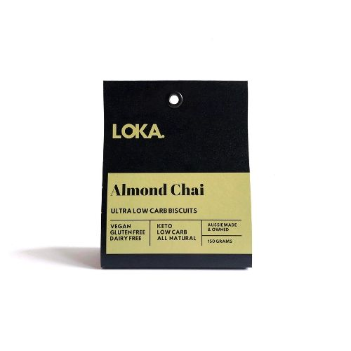 Loka - Almond Cchai Ultra Low Carb Biscuits
