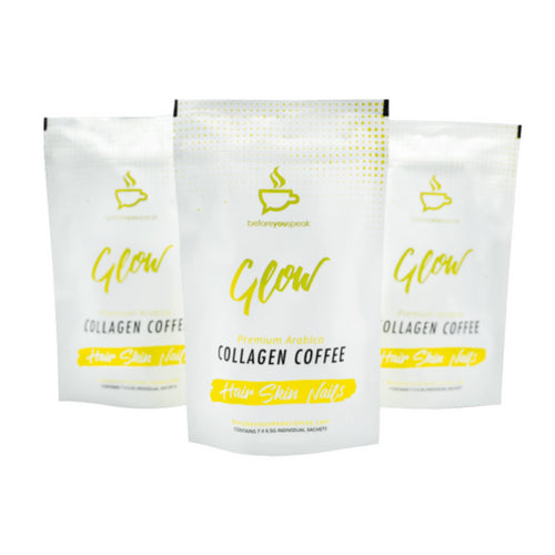 Coffee - Glow High performance with Collagen 7 sachets