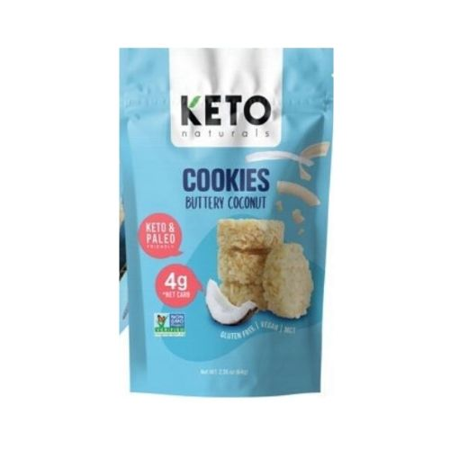 Keto Naturals Cookies Buttery Coconut