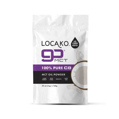 Locako - GoFat 100% Pure C8 MCT Oil Powder