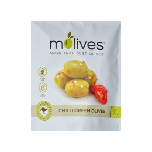 Molives - Chilli Green Olives in olive oil
