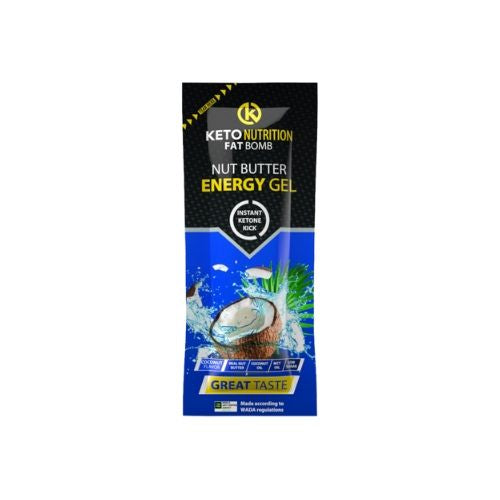 Keto Nutrition Fat Bomb Gel Coconut