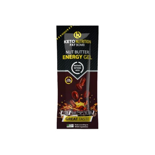 Keto Nutrition Fat Bomb Gel Coffee