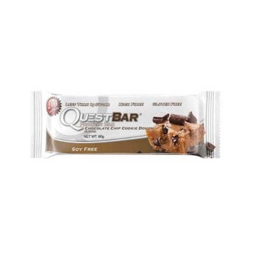 Quest Protein Bar Choc Chip Cookie Dough