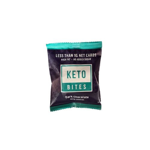 Keto Bites Dark Chocolate Keto Cookies