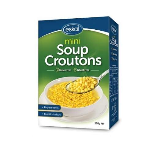 Eskal Gluten Free Mini Soup Croutons - 200g (Kosher for Pesach)