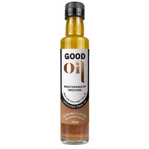Good Oil - Mediterranean Dressing - 250mL