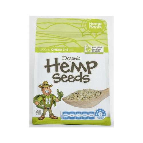 Hemp Seeds Hulled - organic