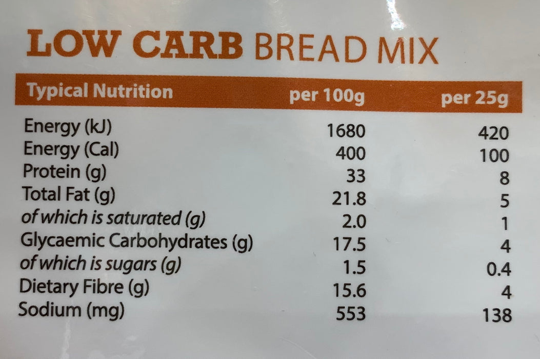 Low Carb Bread Mix - 300gm