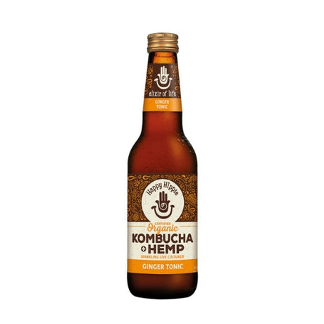 Kombucha + Hemp Ginger Tonic - 330ml