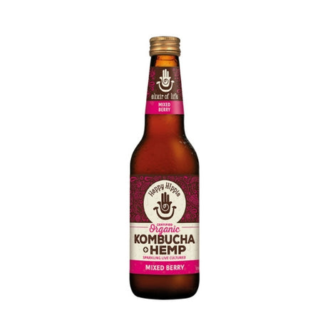 Kombucha + Hemp Mixed Berry - 330ml