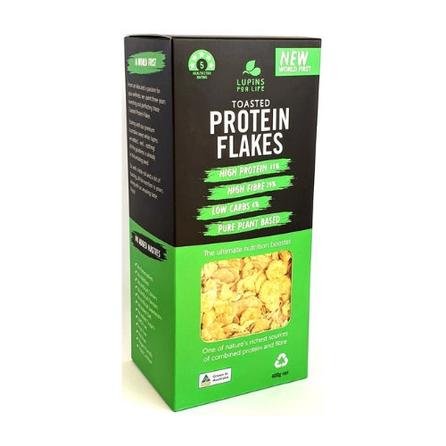 Lupins For Life Toasted Lupin Protein Flakes - 400gm