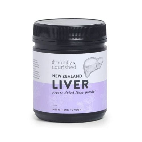 Thankfully Nourished Liver Powder