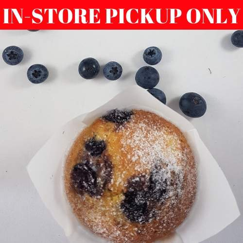 The Muffin Project - Blueberry Muffin