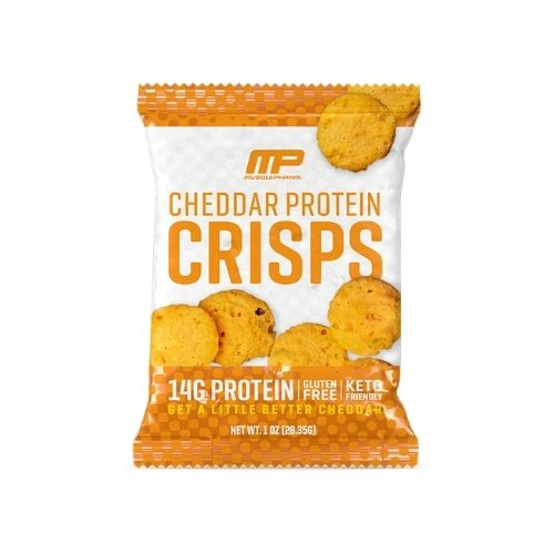 MusclePharm Cheddar Cheese Protein Crisps