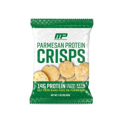 Musclepharm Parmesan Cheese Protein Crisps - 28.35gm