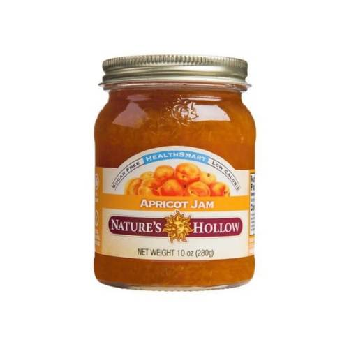 Nature's Hollow Keto Friendly Apricot Jam