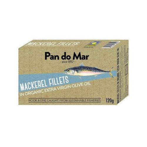Pan do Mar Mackerel Fillets 120gm