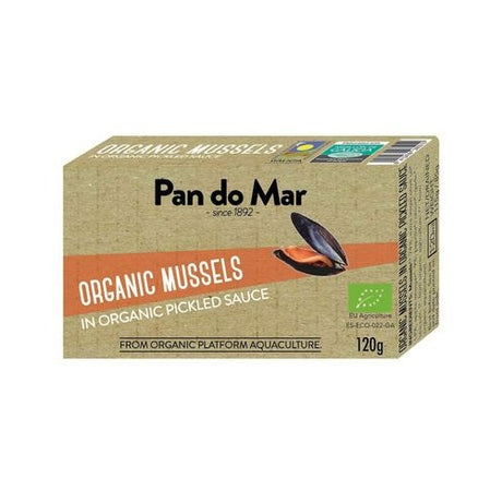 Pan do Mar Organic Mussels in Organic Pickled Sauce 120gm