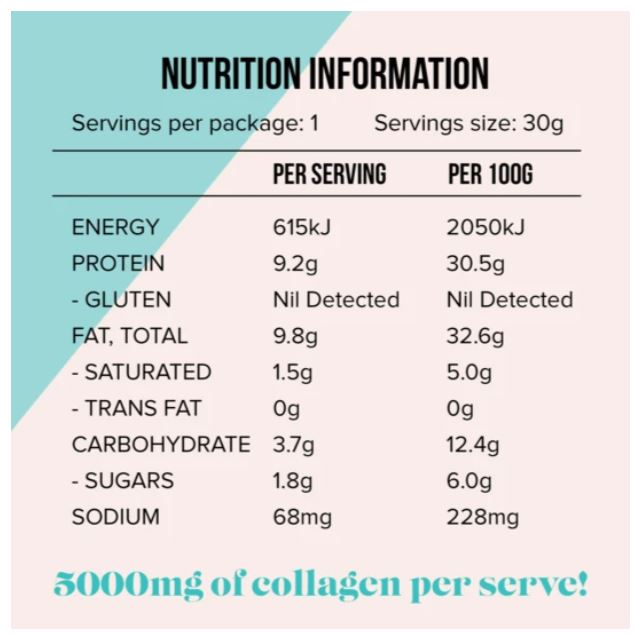 Peanut Nutter Collagen Cookie - 30g
