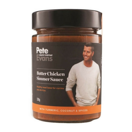 Pete Evans Sauces - Butter Chicken Sauce - Low Carb Butter Chicken sauce