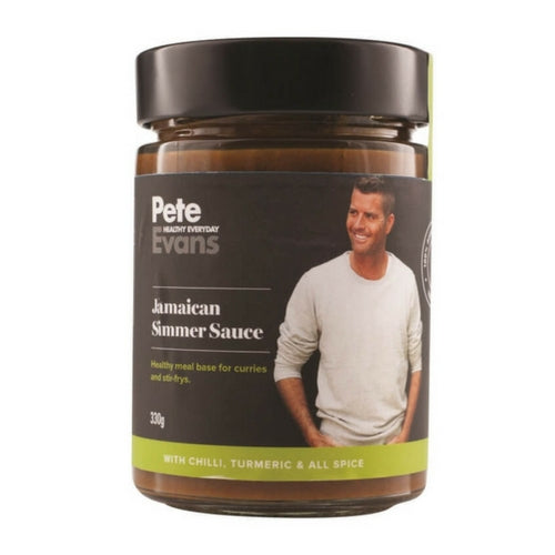 Pete Evans Sauces - Jamaican Simmer Sauce - low carb sauces