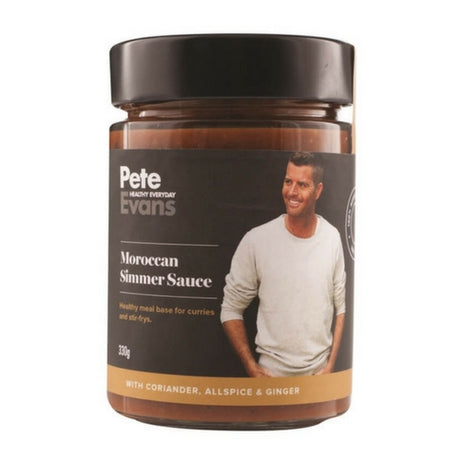 Pete Evans Sauces - Moroccan Simmer Sauce - Low Carb Sauces