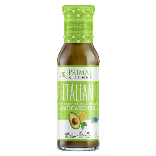 Primal Kitchen Italian Vinaigrette and Marinaide