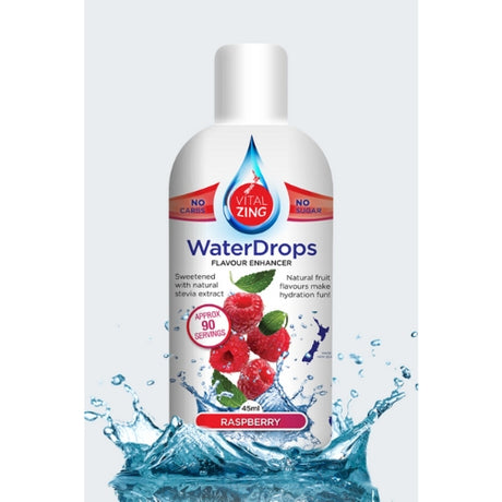 Raspberry Water Drops