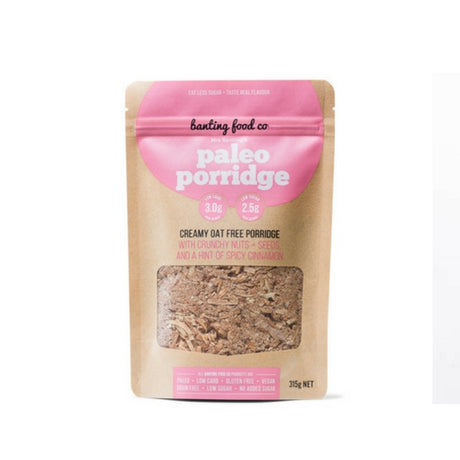 Mrs Banting's Paleo Porridge - Low Carb