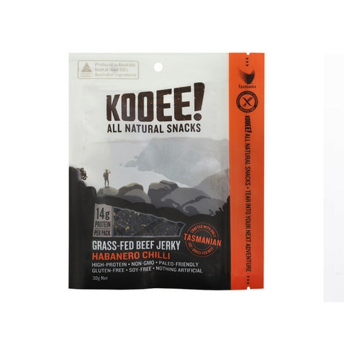 KOOEE! Beef Jerky: Habanero Chilli - no added sugar