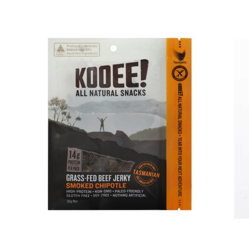 KOOEE! Beef Jerky: Smoked Chipotle - no added sugar