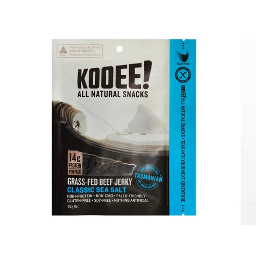 KOOEE! Beef Jerky: Classic Sea Salt - no added sugar