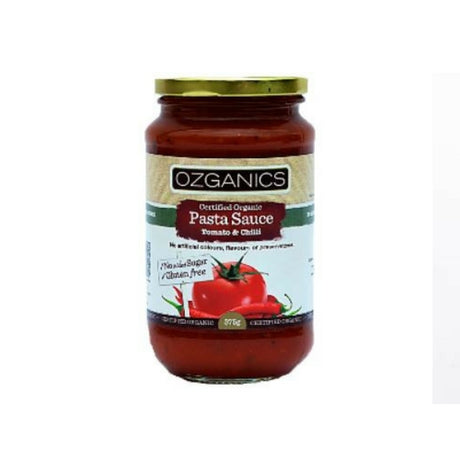 Ozganics Pasta Sauce Tomato and Chilli