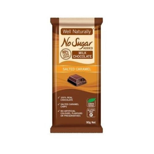 Well Naturally Milk Chocolate Salted Caramel
