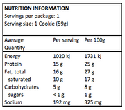 Cookie - Quest Double Choc Chip Protein 59gm