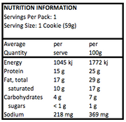 Cookie - Quest Choc Chip Protein 59gm