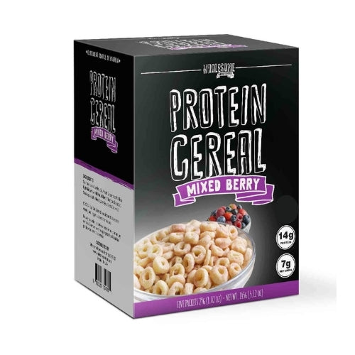 Wholesome Provisions Low Carb Mixed Berry Protein Cereal