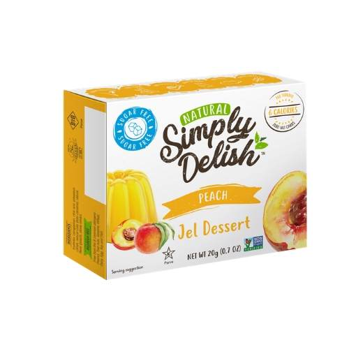 Simply Delish Peach Jelly Mix