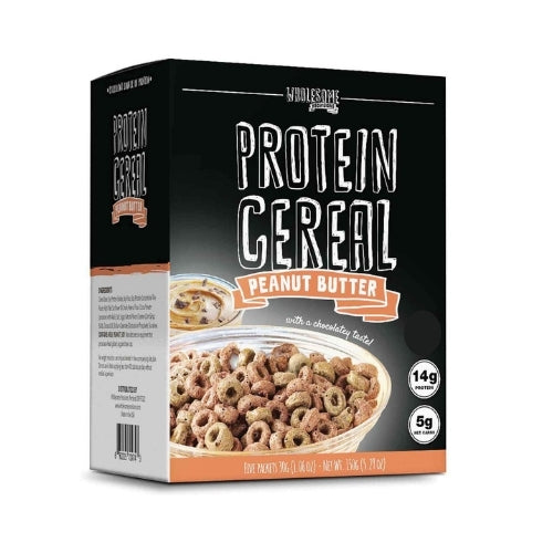 Wholesome Provisions Low Carb Peanut Butter Protein Cereal