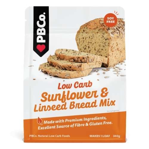 PBCO Low Carb Sunflower & Linseed Bread Mix