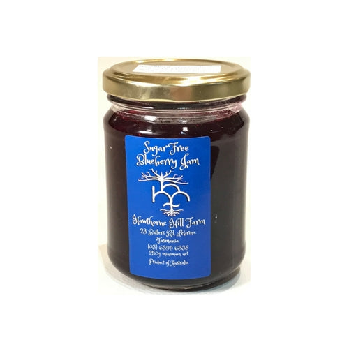 Low Carb Low Sugar Blueberry Jam